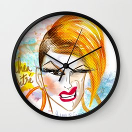 Beautiful Rhea Litre (Pleasure me) Wall Clock