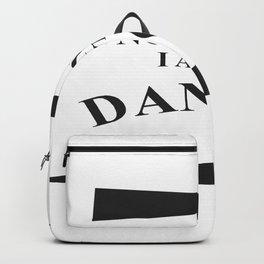I am The Danger Backpack