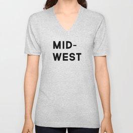 MID-WEST Unisex V-Neck