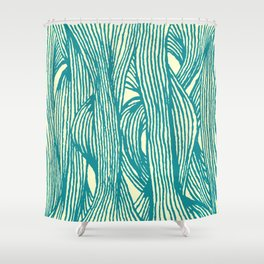Inklines IV Shower Curtain