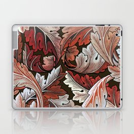 Art Nouveau William Morris Autumn Acanthus Leaves Laptop & iPad Skin