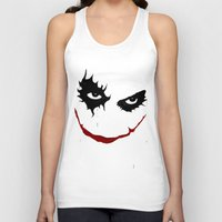 the joker Tank Tops featuring Joker by Sport_Designs