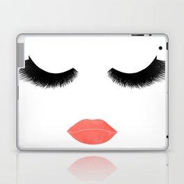 eyelashes with lips Laptop & iPad Skin