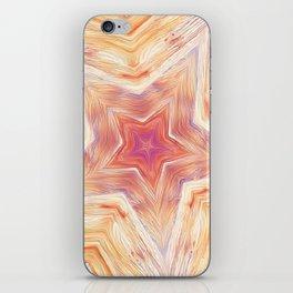 Wood Star Mandala #2 iPhone Skin