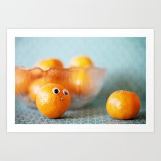Hi, Little Cutie! Art Print