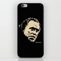 bukowski iPhone & iPod Skins featuring Bukowski#! by f_e_l_i_x_x