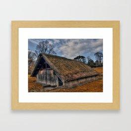 The Old Boat House Framed Art Print