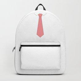 fake necktie Backpack