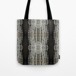 Oak Tree Bark Vertical Pattern by Debra Cortese Designs Tote Bag