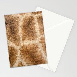 Giraffe pattern Stationery Cards