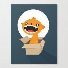 Bad Surprise Canvas Print