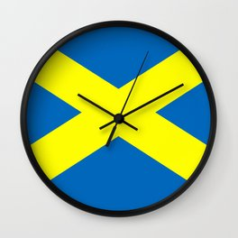 Flag Of The English City Of Saint Albans Wall Clock
