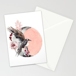 Visions Of Crystal Eyed Ravens Stationery Cards