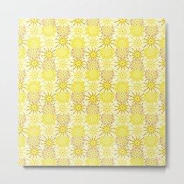 A starburst of sunflowers Metal Print