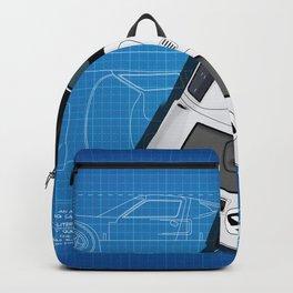 GT40 Daytona 1966 Blueprint Backpack
