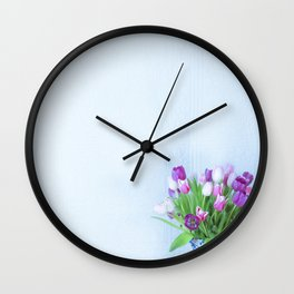 Exhilaration of Spring Wall Clock