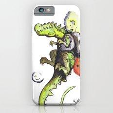 Dinosaur wearing Jetpack Slim Case iPhone 6s