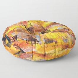 Peanut Butter Floor Pillow