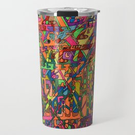 A Lecture in Color Travel Mug