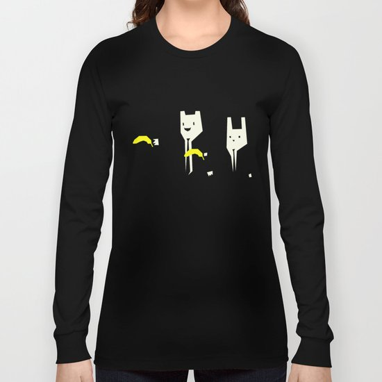 Pulp banana Long Sleeve T-shirt