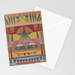 American Native Pattern No. 73 Stationery Cards
