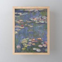 Claude Monet - Water Lilies, 1916 Framed Mini Art Print