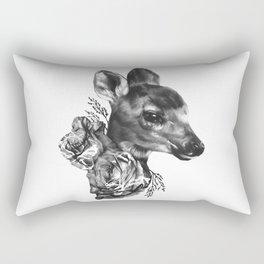 Fawn & Flora I Rectangular Pillow