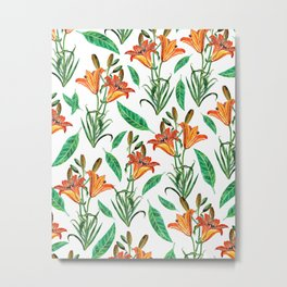 Floral Delight #society6 #decor #buyart Metal Print