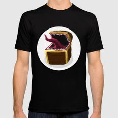 Mimic Black SMALL Mens Fitted Tee