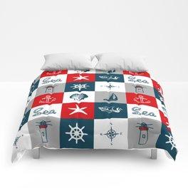 Nautical design 4 Comforters
