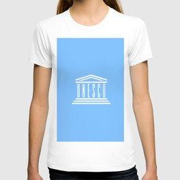 flag of Unesco T-shirt