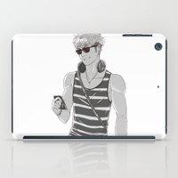 snk iPad Cases featuring SNK: Modern Jean Kirschstein by Yuki119