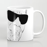 karl Mugs featuring Oh, Karl by Pablo Garcia