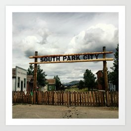 SouthPark Colorado Art Print