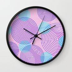 krugovi (pink) Wall Clock