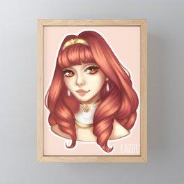Celica Framed Mini Art Print