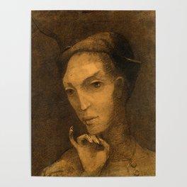 "Odilon Redon ""Mephistopheles"" Poster"