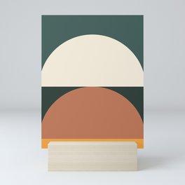 Abstract Geometric 01E Mini Art Print
