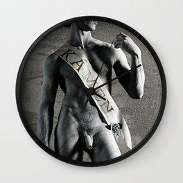David's Pride Wall Clock