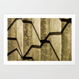 Shadow in Hackney3 Art Print