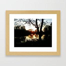 Life in a Mirror Framed Art Print