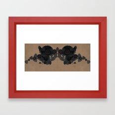 datadoodle kaleidoscope Framed Art Print