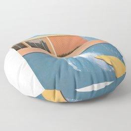 Hockney A Bigger Splash Floor Pillow