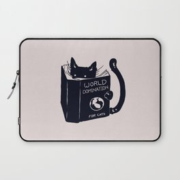 World Domination For Cats Laptop Sleeve