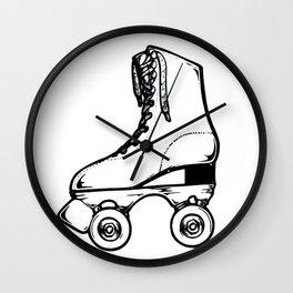 Roller Skate Wall Clock