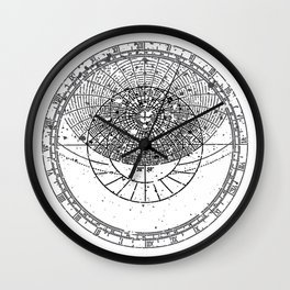 Astrolabe Wall Clock