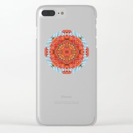 Mandala to Achieve Freedom Clear iPhone Case
