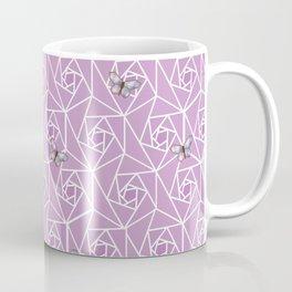 Roses & Butterflies Coffee Mug