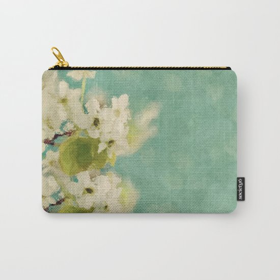 Dream of spring - Apple Blossom Appleblossoms  Flower Floral Carry-All Pouch