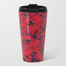 Dissemination / Pattern #4 Metal Travel Mug